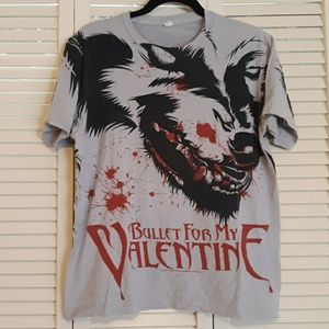 Bullet for my valentine band tee